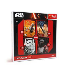 Puzle star wars, 4 en 1 - 10423