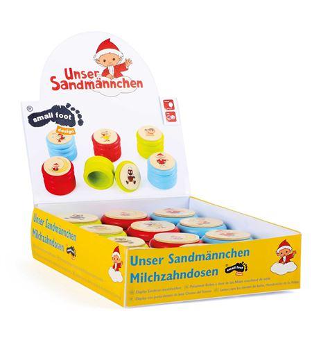 Latitas para los dientes de leche, hombrecito de la arena, display - 10432