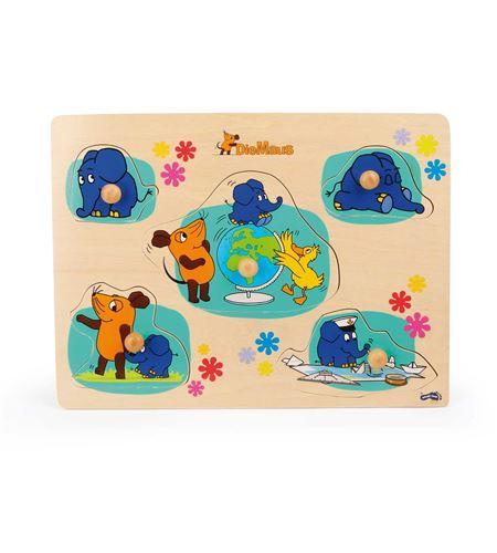 Set de puzles con el elefante - 10493
