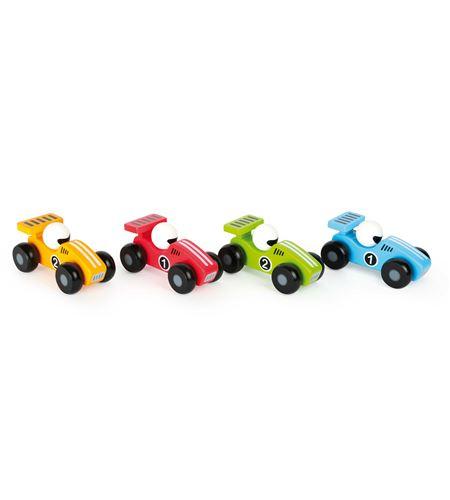 Coches de carreras bólidos de colores - 10501