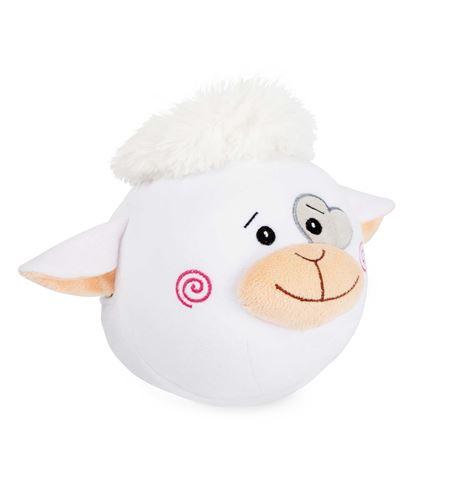 Pelota de peluche perro y oveja - 10522