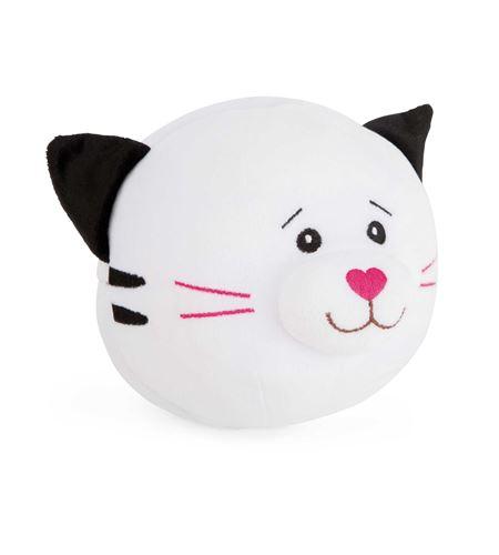 Pelota de peluche gato y ratón - 10523