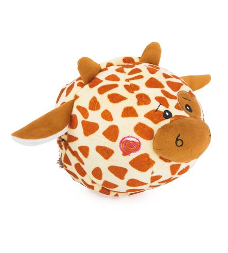Pelota de peluche cebra y jirafa - 10524