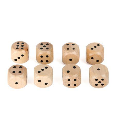Set de dados de madera - 10530
