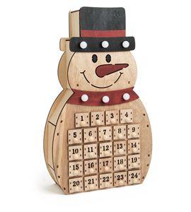 """Calendario de adviento """"muñeco de nieve"""" - 10544"""