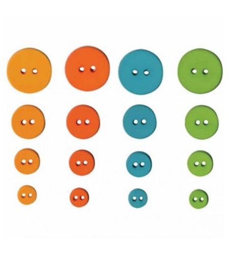 Set de botones circulares - fun - UBBOR22