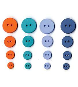 Set de botones circulares - boy - UBBOR23