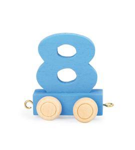 Tren de números de colores 8 - 10570