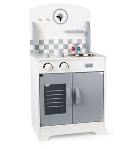 Cocina de juguete con reloj de pared - 10599