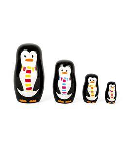 Matrioska familia de pingüinos - 10619