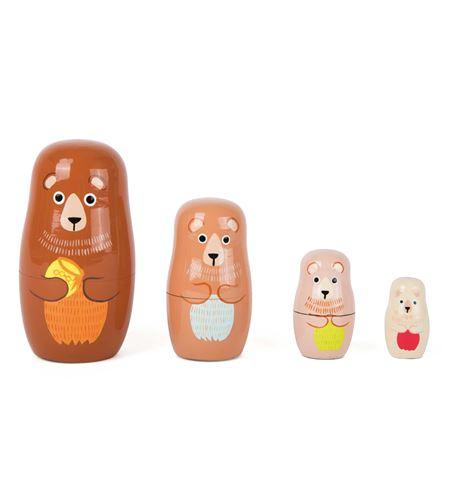 Matrioska familia de osos - 10621