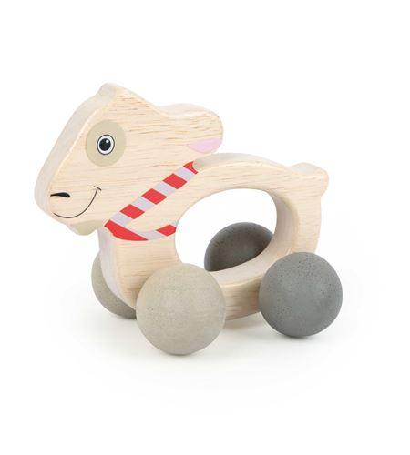 """Juguete para agarrar """"ludwig"""" sobre ruedas - 10654"""