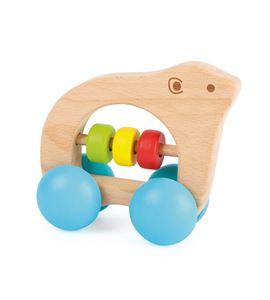 Sonajero oso con ruedas - 10708