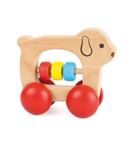 Juguete para agarrar perro sobre ruedas - 10709