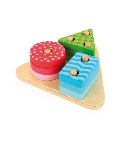 Juego de encajar formas geométricas - 10720