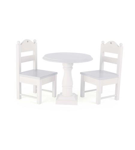 Muebles blancos para las muñecas - 10744