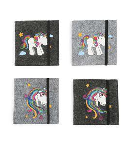 Libro de notas con motivo de unicornio - 10759