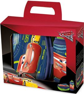 Set disney cars con táper y botella - 10767