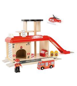 Estación de bomberos con accesorios - 10798