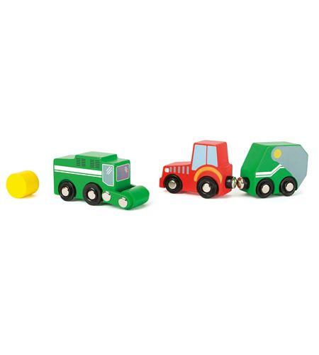 Set de juego de vehículos de granja - 10803