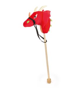 Dragón de palo ´fuego´ - 10821