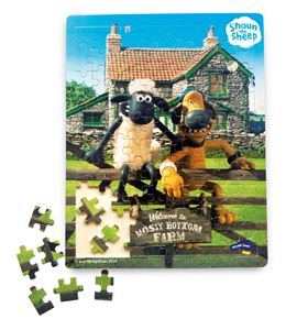 "Puzzle ""la oveja shaun"" - 1256"