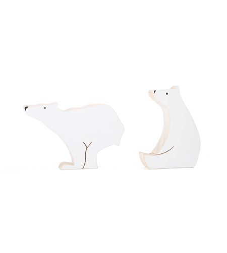Figuras decorativas, oso polar - 1283