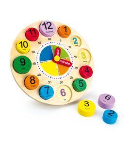 """Reloj de aprendizaje """"inglés"""" - 1486"""