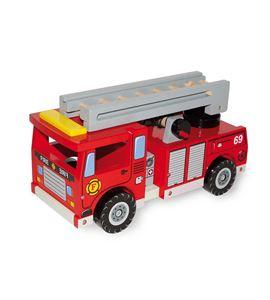 Coche de bomberos, con complementos - 1527
