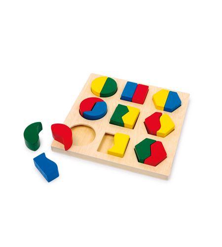 Puzle para encajar formas, parejas - 1600