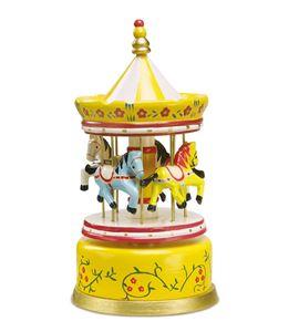 Reloj de música, amarillo - 1743