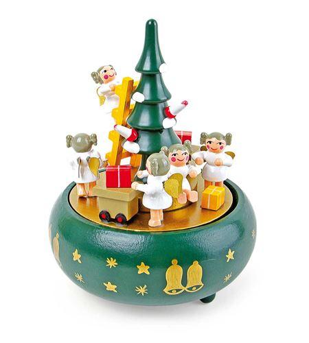 """Reloj de música """"árbol de navidad"""" - 1759"""