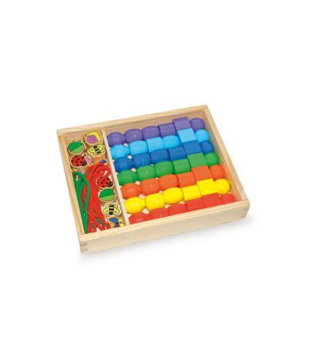 "Caja para ensartar ""perlas jumbo"" - 2402"
