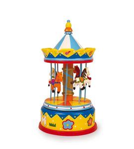 """Reloj de música """"tiovivo de caballos"""" - 2453"""