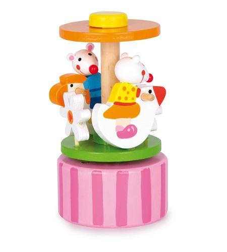 """Reloj de música """"ratoncitos bailando"""" - 2665"""