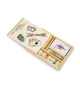 """Caja de juegos """"4 en 1"""" - 2866"""