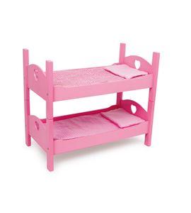 Cama individual / litera, pink - 2871