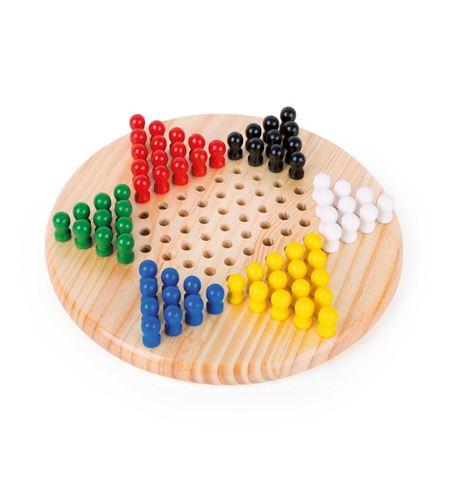 Juego de mesa, damas chinas - 2940