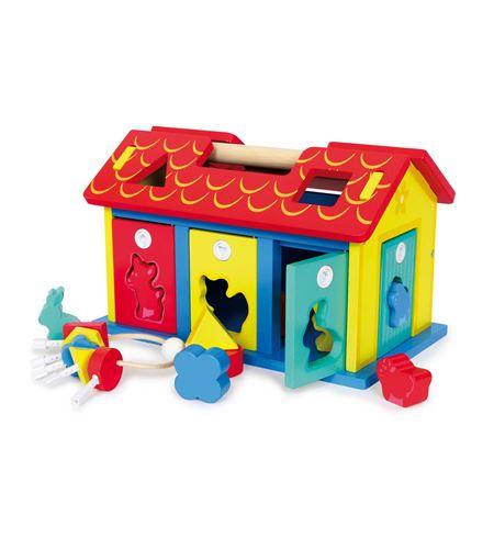 """Casa para meter """"animales y formas"""" - 3105"""