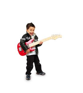 Guitarra eléctrica, roja - 3302