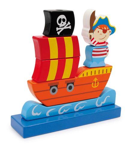 Barco pirata para ensartar - 3403