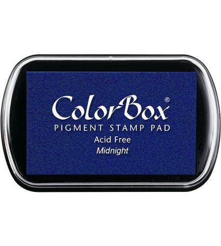 Tampón de tinta colorbox - midnight - CL15027