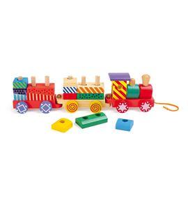 Tren colorido - 3498