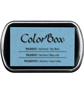 Tampón de tinta colorbox - sky blue - CL15038