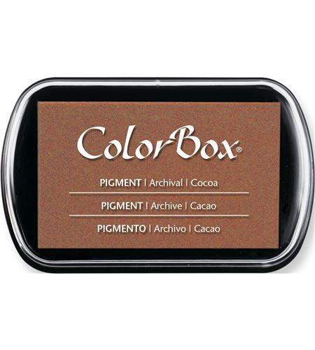 Tampón de tinta colorbox - cacao - CL15053