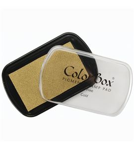 Tampón de tinta colorbox - gold - CL19091