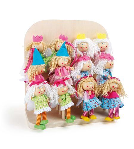 Display marionetas de dedo, princesas - 3988