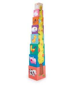 Torre de cubos animales - 4337