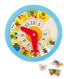 """Reloj de aprendizaje """"osito´ - 4753"""