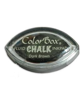 Tampón de tinta cat´s eye chalk - dark brown - CL71435
